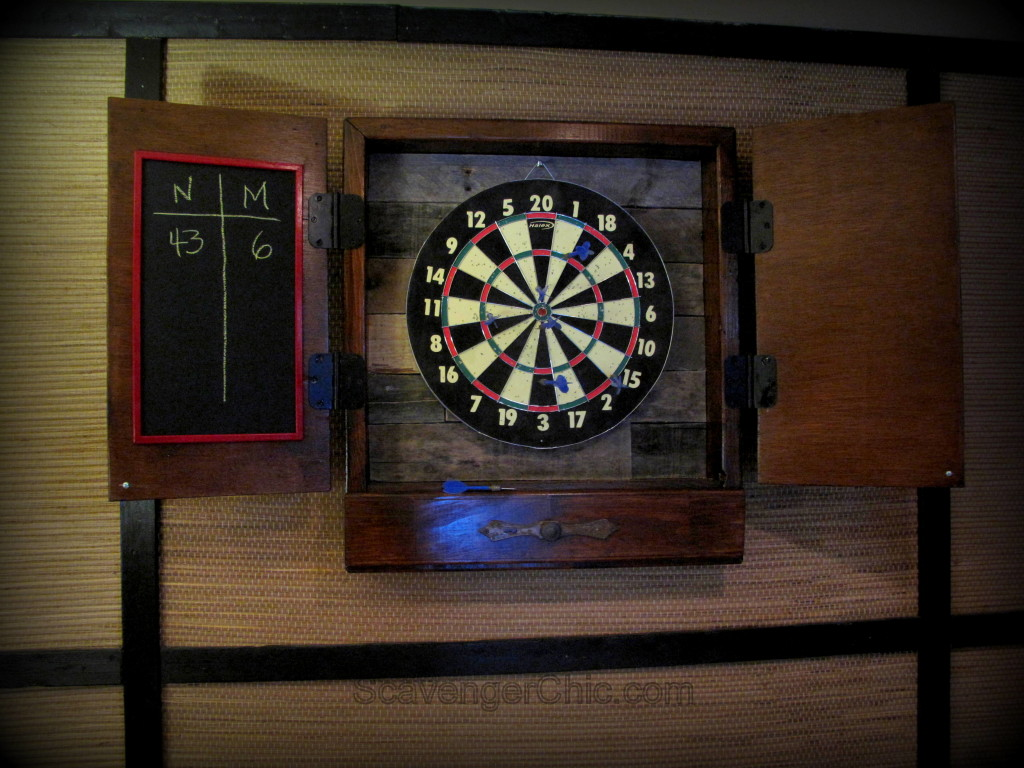 Dartboard Cabinet diy