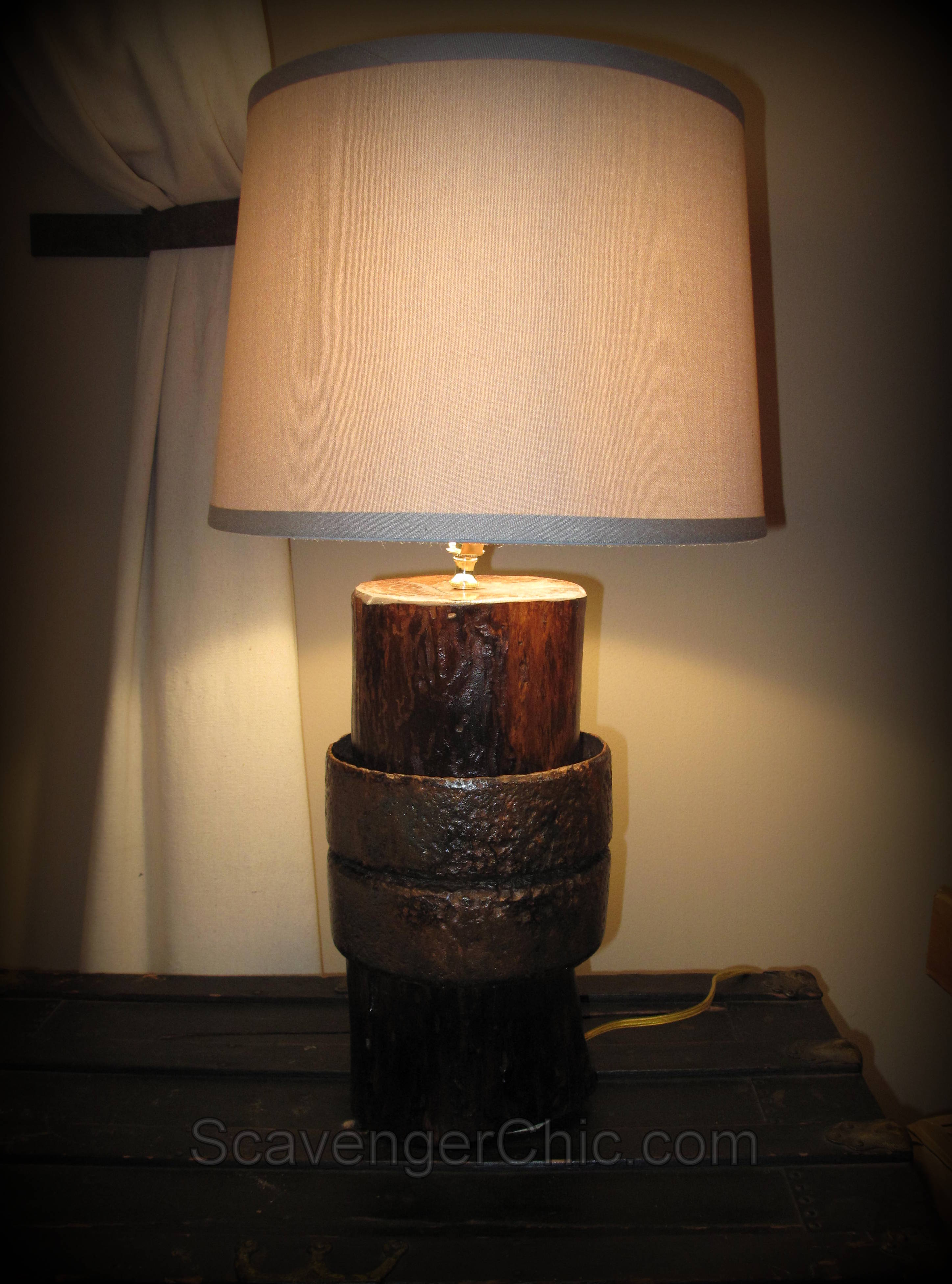 Upcycled Whatchamacallit Lamp Diy Scavenger Chic