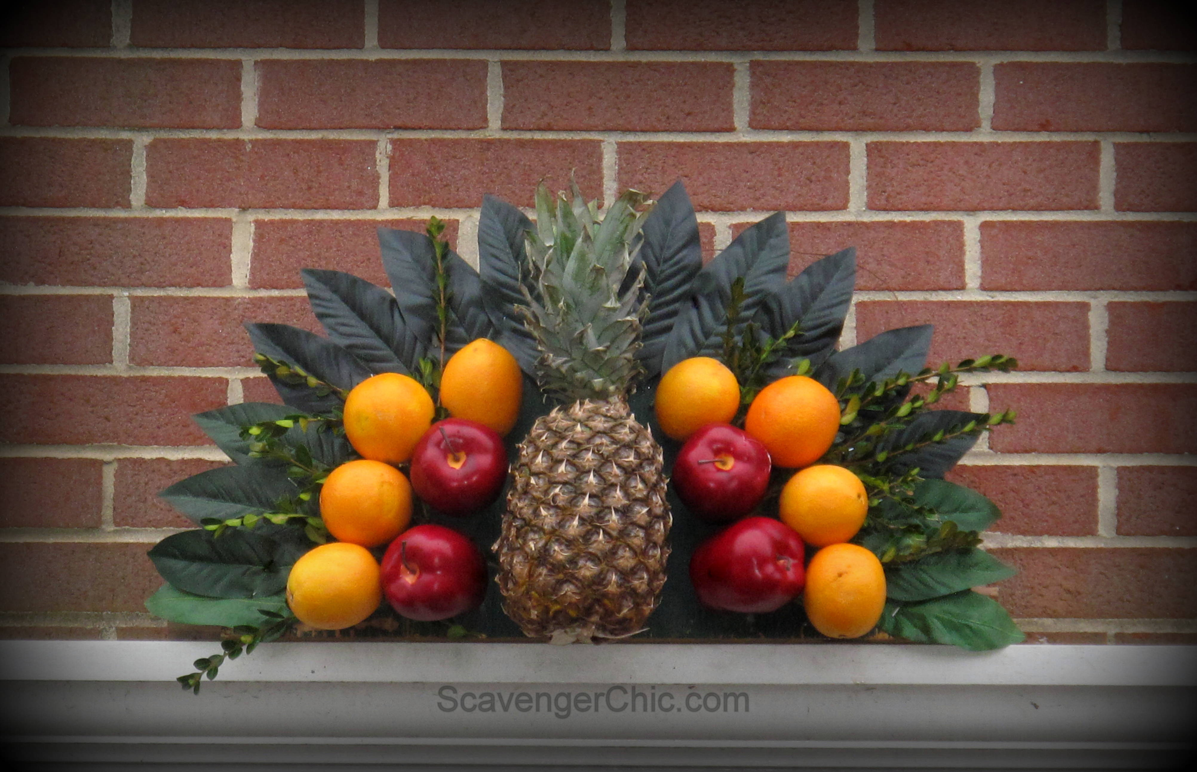 Fruit over the door christmas decoration - Fruit Over The Door Christmas Decoration 2
