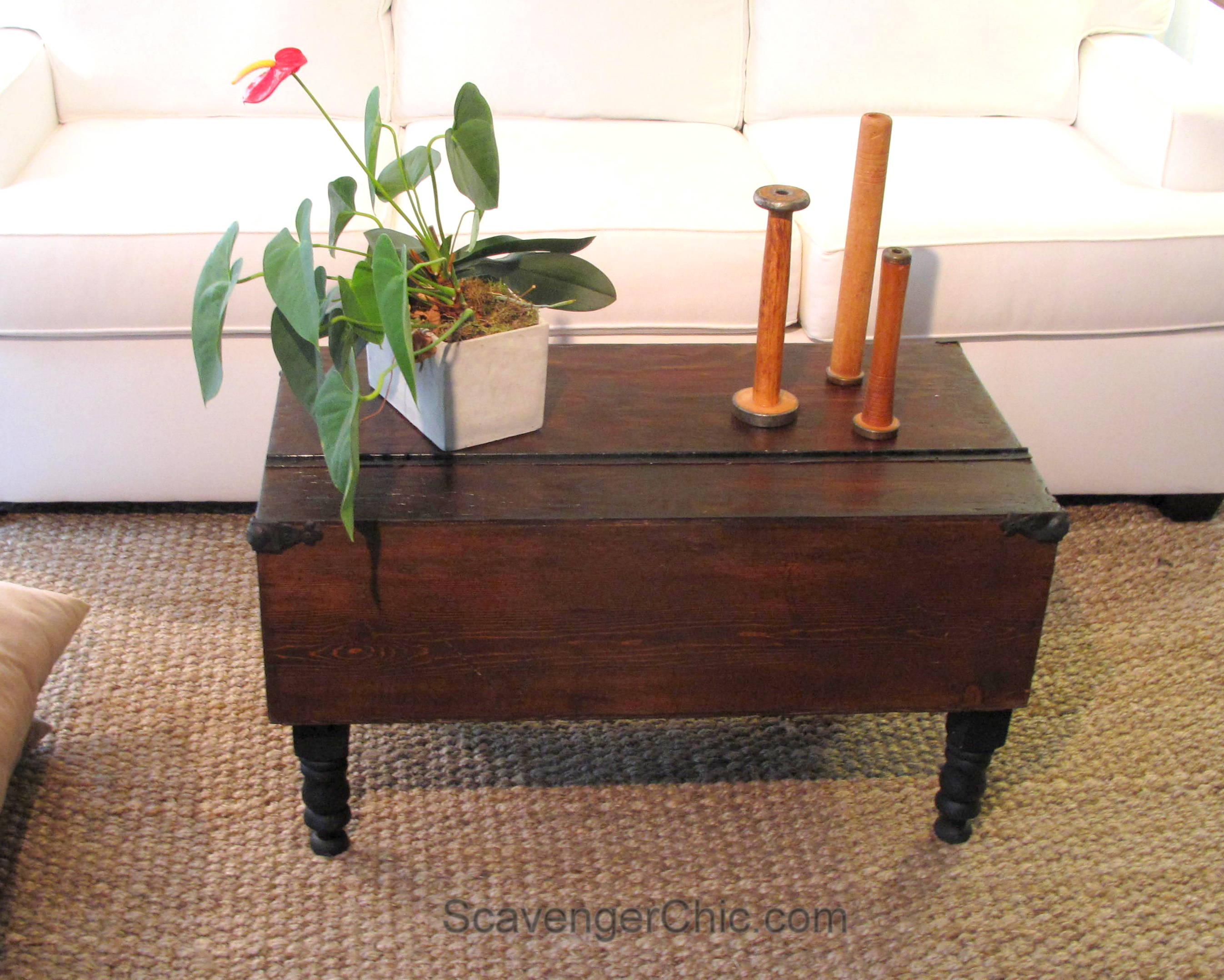 Carpenter S Tool Box Coffee Table Scavenger Chic