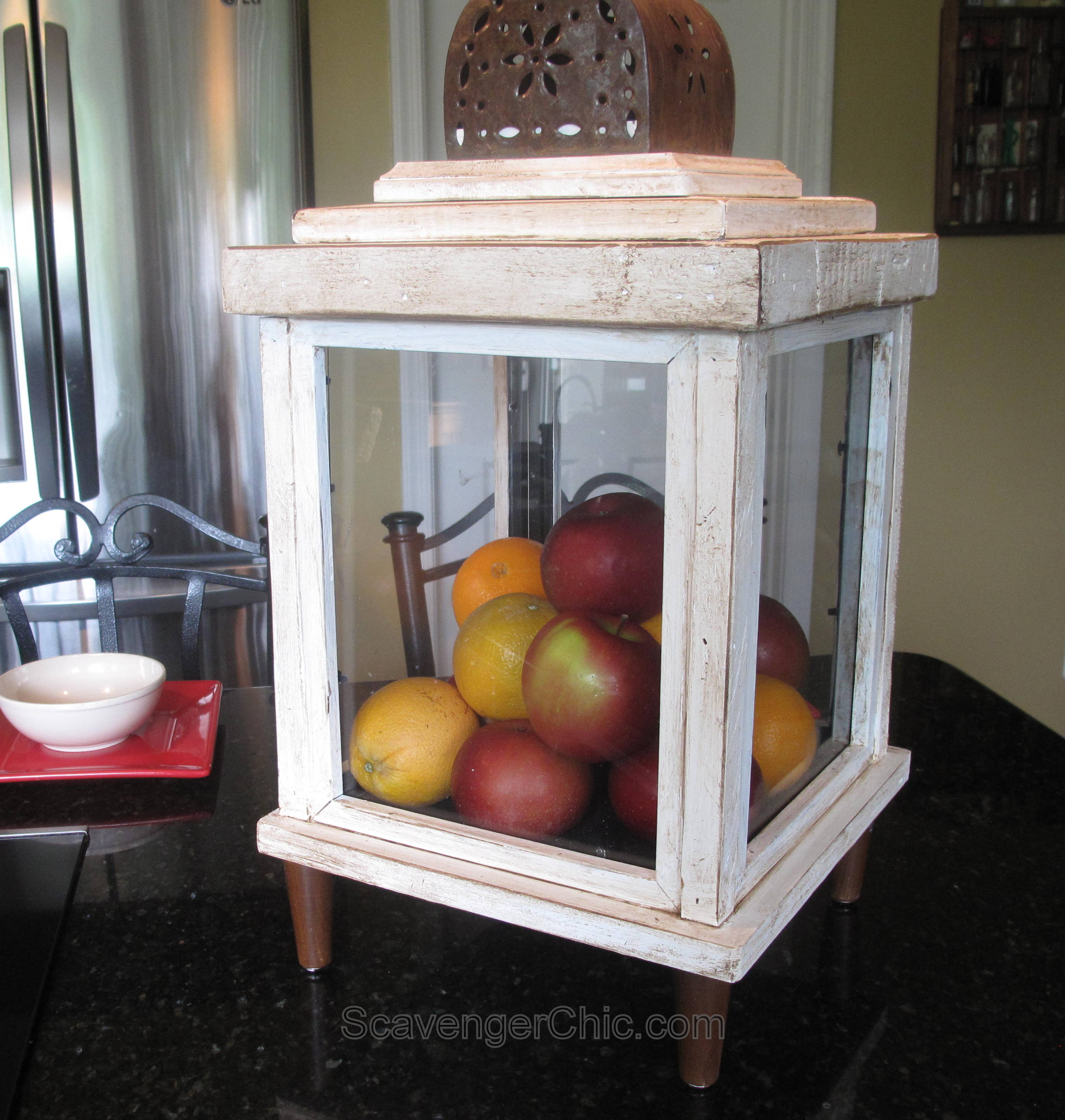 Project Gallery Wood Mode 1: Lantern Made From Old Frames