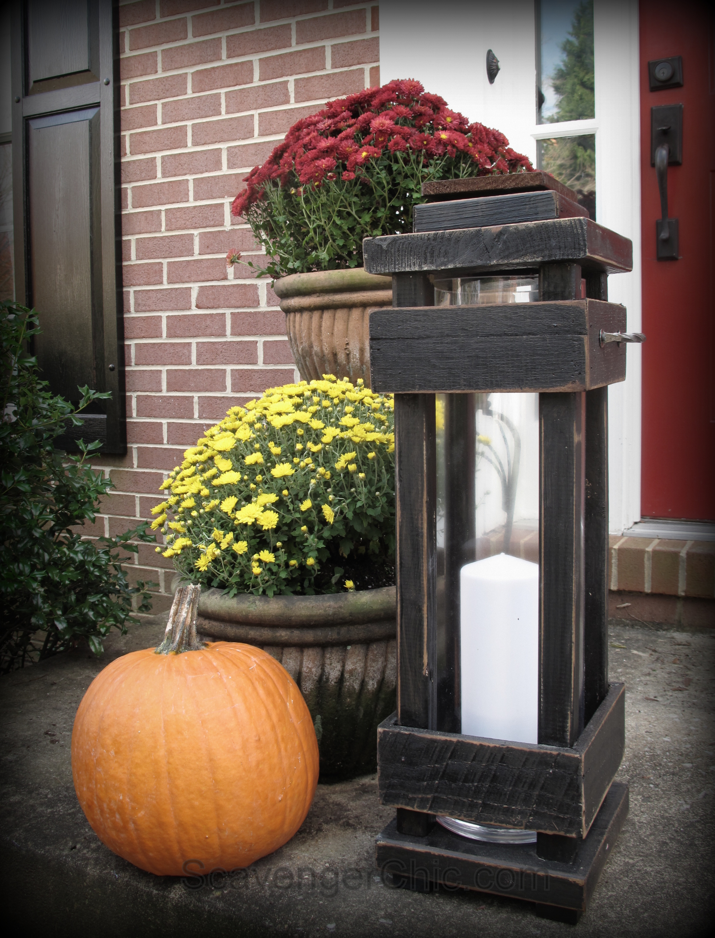 DIY Outdoor Porch Lanterns