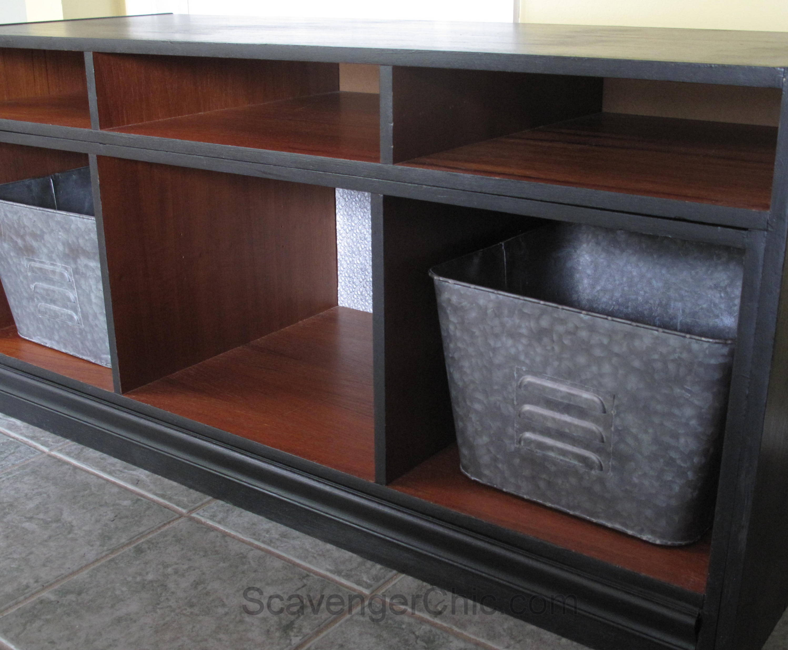New Life for a TV Stand – Scavenger Chic