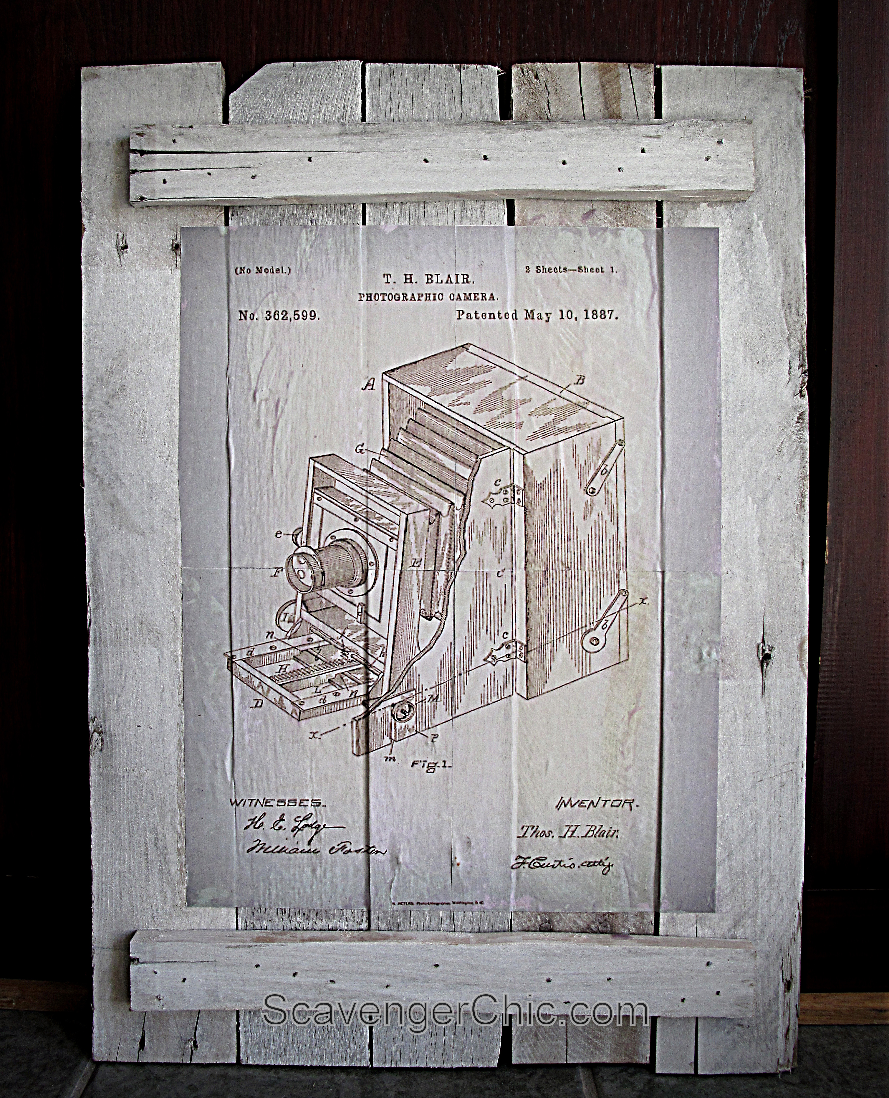Vintage Patent Art Work for FREE – Scavenger Chic