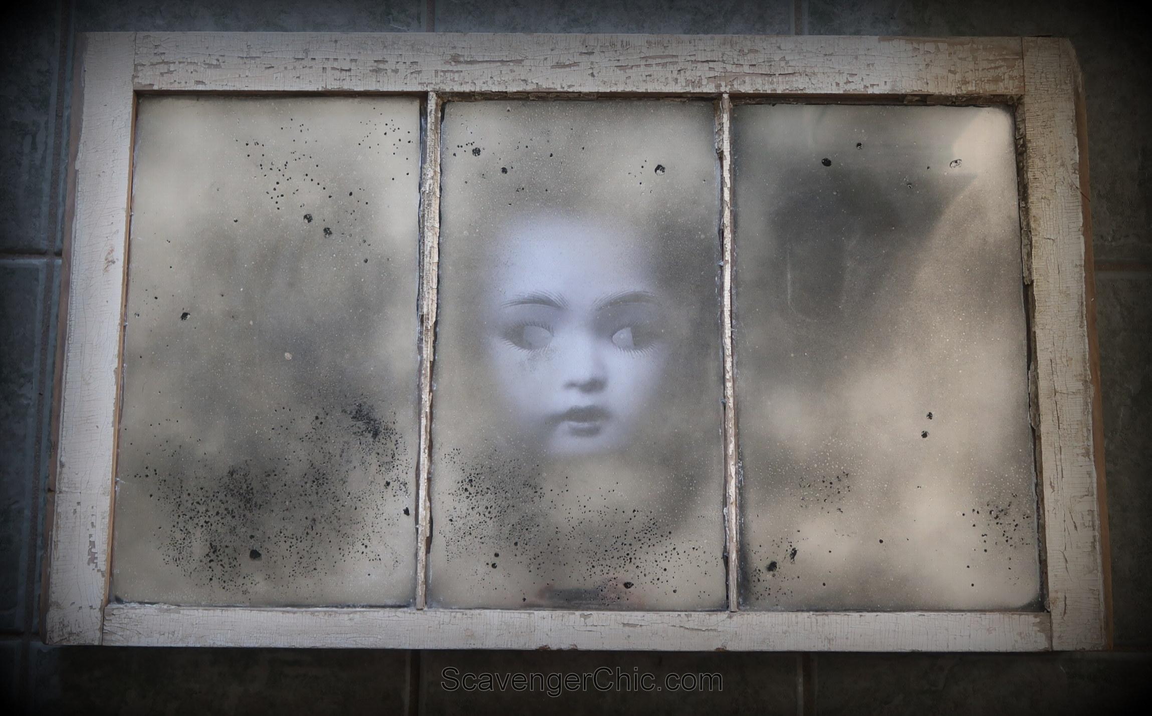 Spooky Halloween Window Scavenger Chic