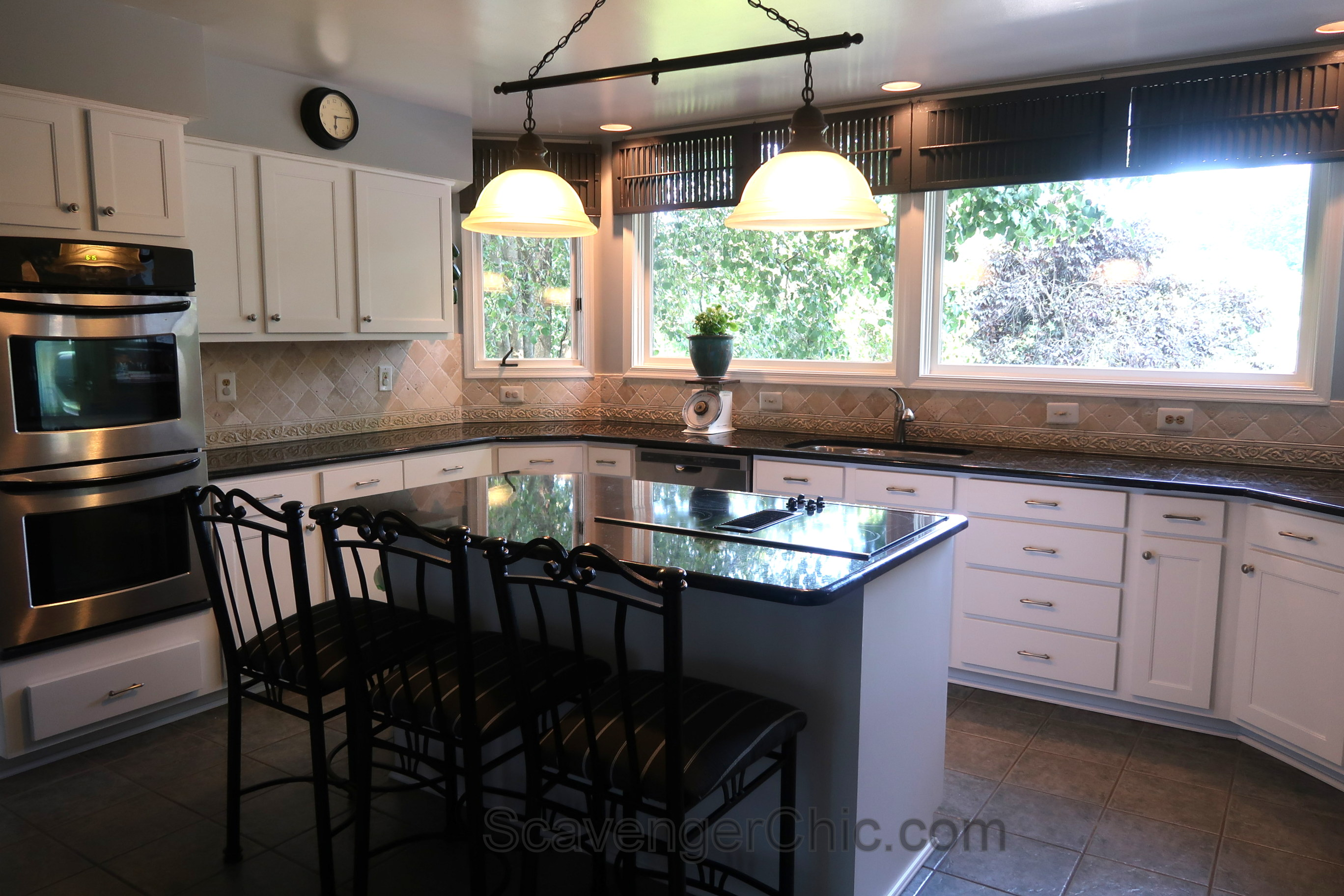 Image of: Kitchen Makeover Refacing Kitchen Cabinets Scavenger Chic